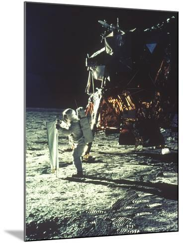 Apollo 11: Sun Sheet--Mounted Photographic Print