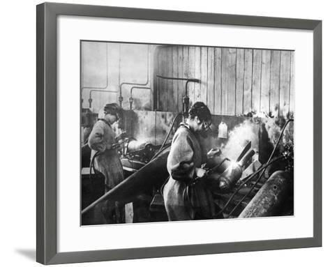World War I: Women Workers--Framed Art Print