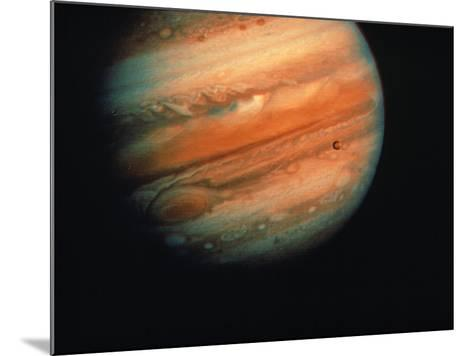 Jupiter, Europa, & Io--Mounted Photographic Print