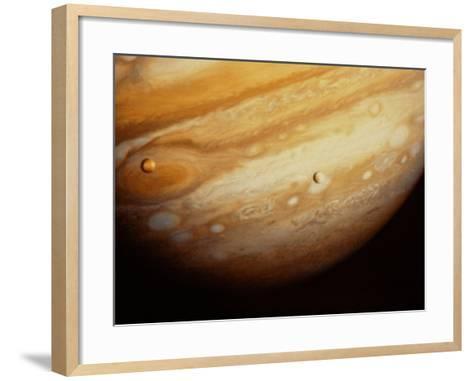 Photograph Of Jupiter--Framed Art Print