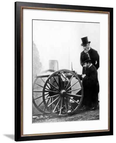 Sir Hiram Stevens Maxim--Framed Art Print