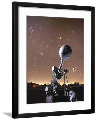 Zeiss Planetarium Projector--Framed Art Print