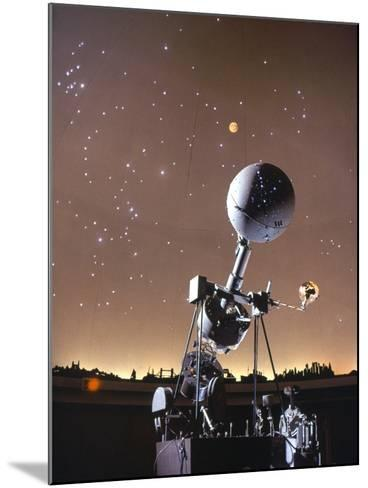 Zeiss Planetarium Projector--Mounted Photographic Print