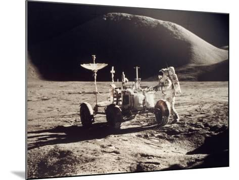 Apollo 15, 1971--Mounted Photographic Print