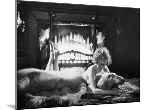 Silent Film Still: Woman--Mounted Photographic Print