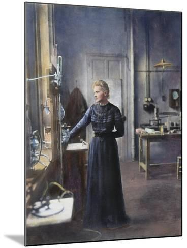 Marie Curie (1867-1934)--Mounted Photographic Print