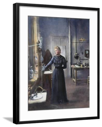Marie Curie (1867-1934)--Framed Art Print