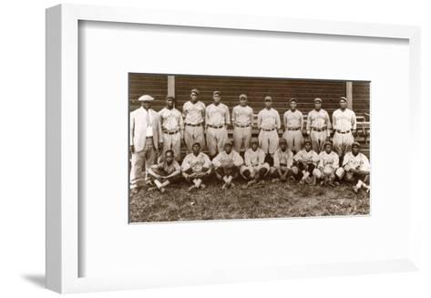 Baseball: Negro Leagues--Framed Art Print