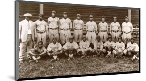 Baseball: Negro Leagues--Mounted Photographic Print