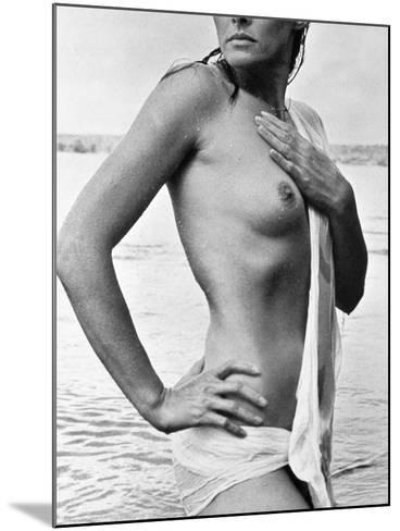 Ursula Andress (B. 1936)--Mounted Photographic Print