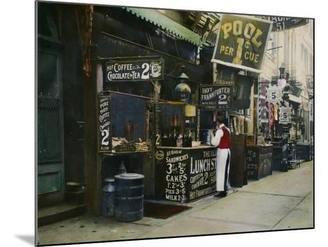 New York City Restaurant--Mounted Photographic Print