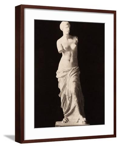 Venus De Milo--Framed Art Print