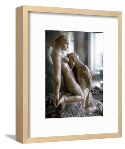 Rodin: Lovers, 1911-Auguste Rodin-Framed Art Print