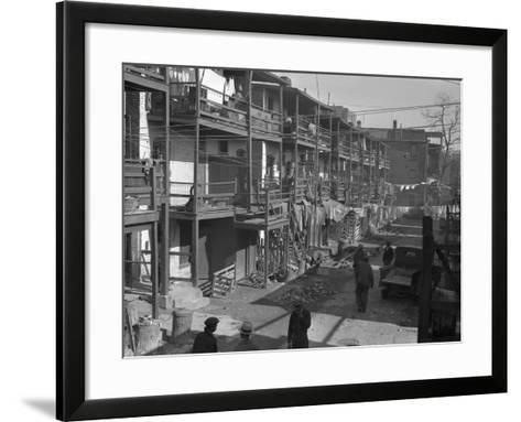 Washington Slum, 1935-Carl Mydans-Framed Art Print
