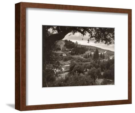Mount Of Olives--Framed Art Print