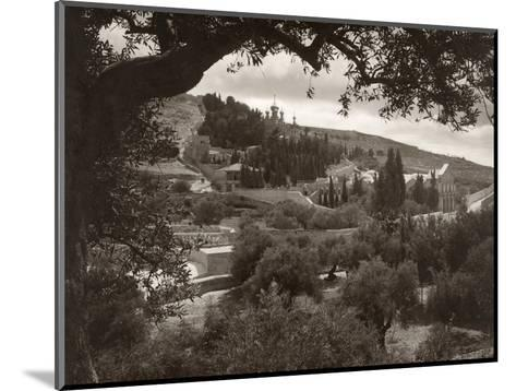 Mount Of Olives--Mounted Photographic Print