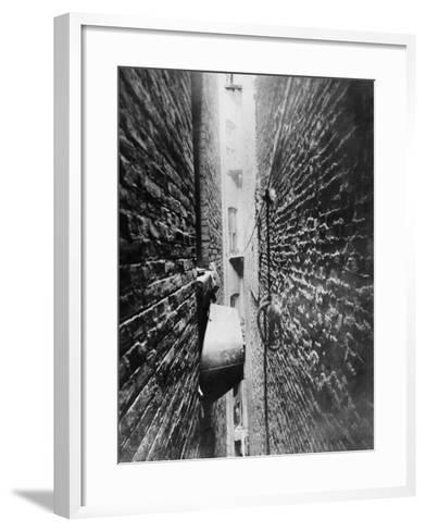 New York: Tenement, C1890-Jacob August Riis-Framed Art Print