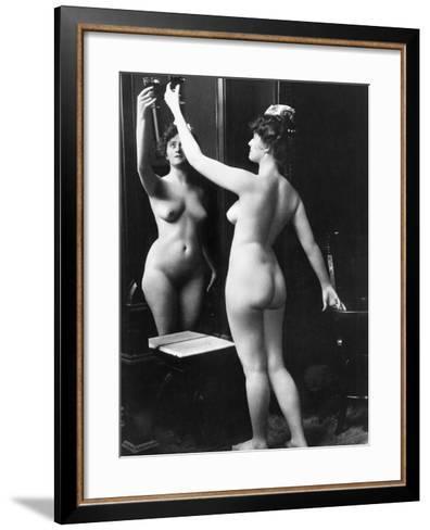 Prostitution, C1900-Fritz W. Guerin-Framed Art Print