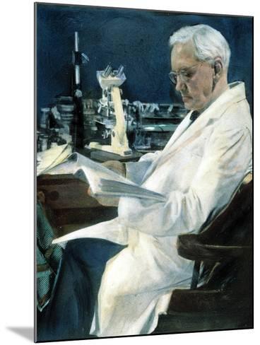 Sir Alexander Fleming--Mounted Photographic Print