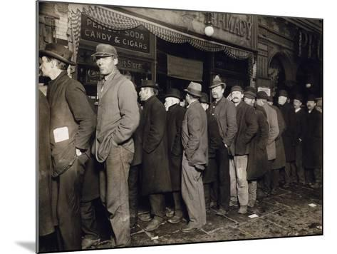 New York: Bread Line, 1907--Mounted Photographic Print