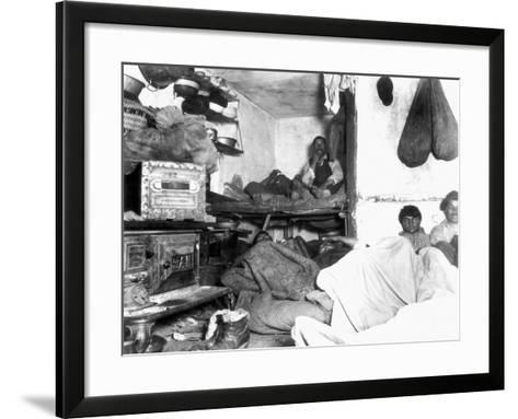 Tenement Life, Nyc, C1889-Jacob August Riis-Framed Art Print
