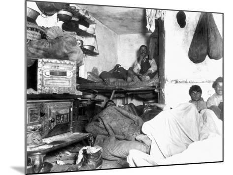 Tenement Life, Nyc, C1889-Jacob August Riis-Mounted Photographic Print