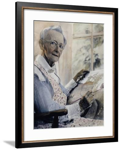 Anna Mary Robertson--Framed Art Print