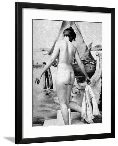 Bathing Nude, 1902-Fritz W. Guerin-Framed Art Print