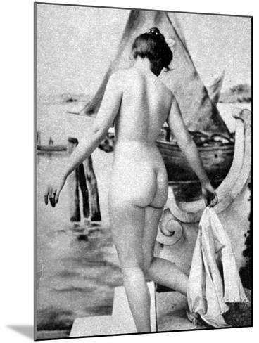 Bathing Nude, 1902-Fritz W. Guerin-Mounted Photographic Print