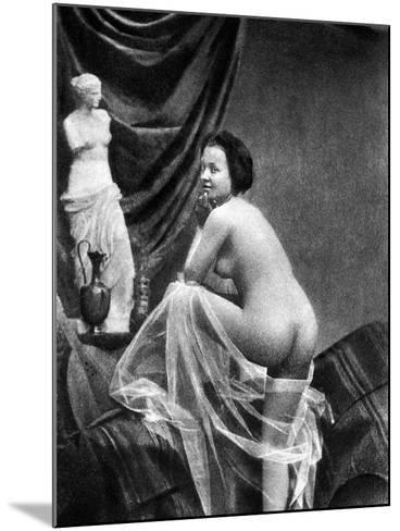 Nude Posing, 1855-Graf-Mounted Photographic Print