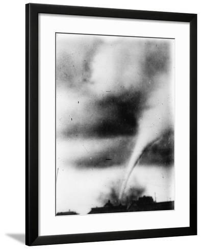 Oklahoma City: Tornado--Framed Art Print