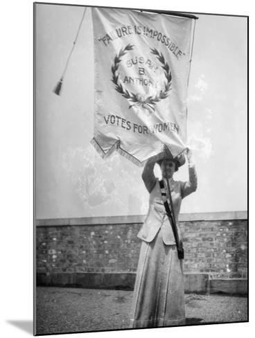 Suffragist, C1912--Mounted Photographic Print