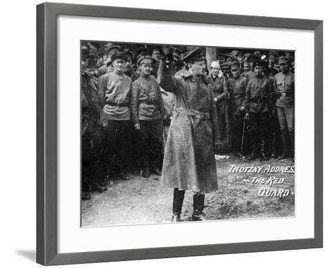 Leon Trotsky (1879-1940)--Framed Art Print