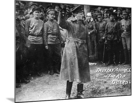 Leon Trotsky (1879-1940)--Mounted Photographic Print