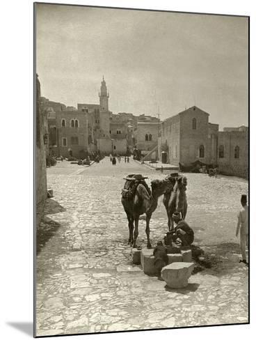 Bethlehem: Street, C1911--Mounted Photographic Print