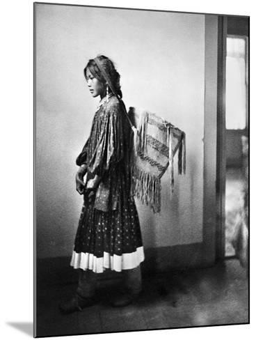Apache Woman, C1902-Carl Werntz-Mounted Photographic Print