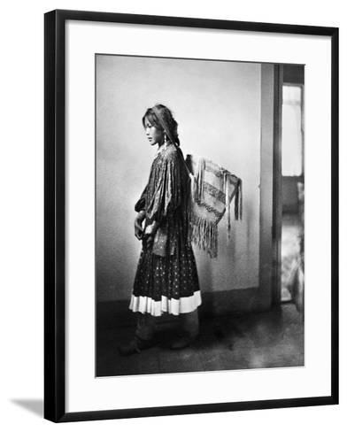 Apache Woman, C1902-Carl Werntz-Framed Art Print