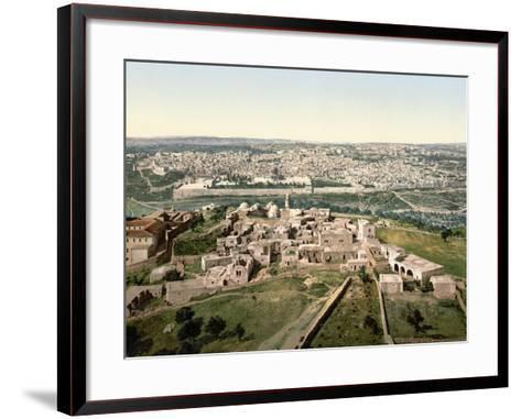 Jerusalem, C1900--Framed Art Print