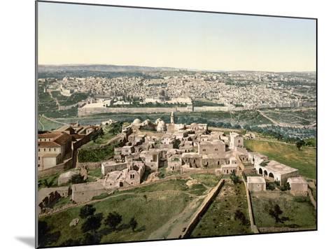 Jerusalem, C1900--Mounted Photographic Print