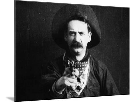 Great Train Robbery, 1903--Mounted Photographic Print