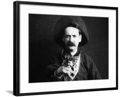 Great Train Robbery, 1903--Framed Art Print