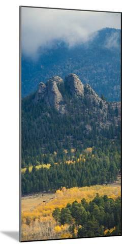 Rock Formations Along the Road Outside Estes Park, Rocky Mountains, Colorado,USA-Anna Miller-Mounted Photographic Print