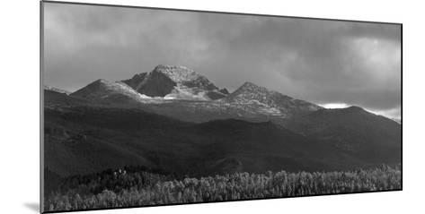 Moraine Park Vista of Rocky Mountains Range with Long's Peak, Colorado, USA-Anna Miller-Mounted Photographic Print