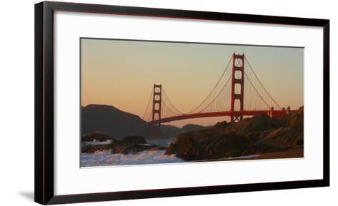Golden Gate Bridge, San Francisco, CAlifornia-Anna Miller-Framed Art Print