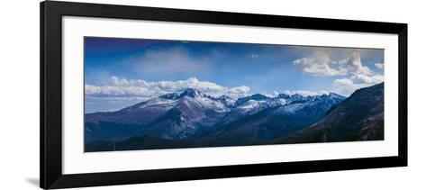 Rocky Mountains Range View from Trail Ridge Road, Rmnp, Colorado-Anna Miller-Framed Art Print