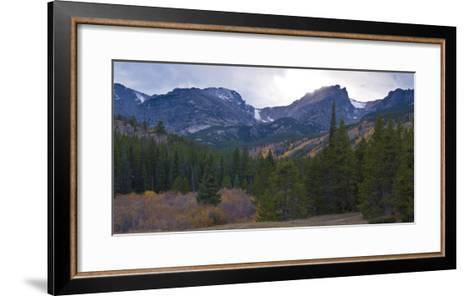 Storm Pass Vista in Rocky Mountains National Park, Colorado,USA-Anna Miller-Framed Art Print