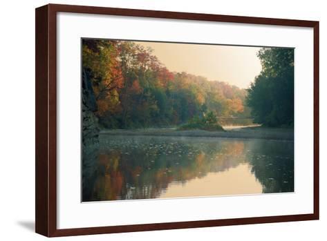 Turkey Run State Park, Indiana, USA-Anna Miller-Framed Art Print