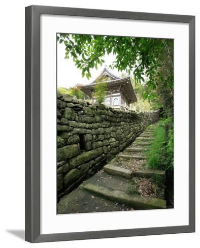Kumano Pilgrim Road--Framed Art Print