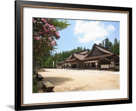 Kongobuji Temple--Framed Art Print