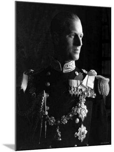 Prince Philip, Duke of Edinburgh, Earl of Merioneth and Baron Greenwich, Married to the Queen-Cecil Beaton-Mounted Photographic Print